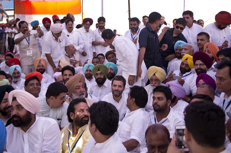 Rahul Gandhi's Anti Drug Protest at Jalandhar, Punjab on June 13, 2016