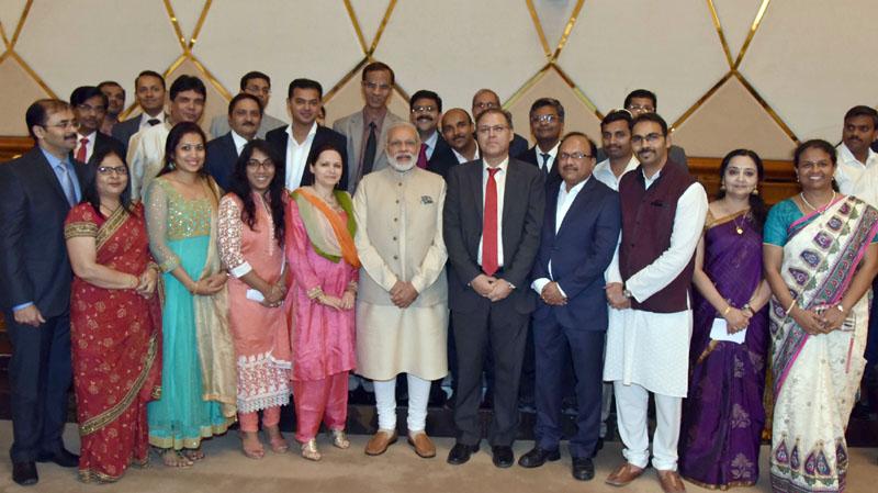 The Prime Minister, Mr. Narendra Modi attends special community reception, in Doha, Qatar on June 05, 2016.