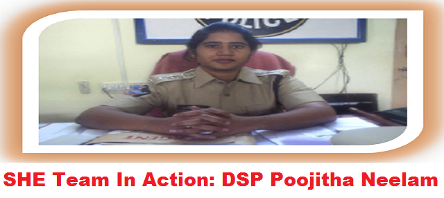 DSP Poojitha Neelam - Proddatur (File Photo)