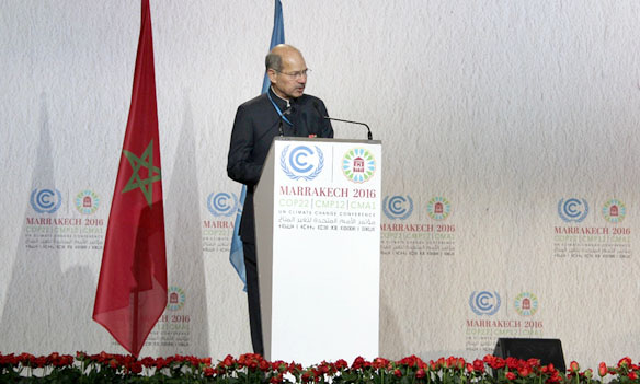 The Minister of State for Environment, Forest and Climate Change (Independent Charge), Mr. Anil Madhav Dave .